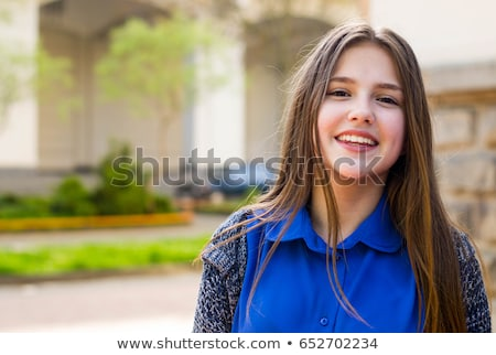Portrait teenage girl outdoors Stock photo © monkey_business