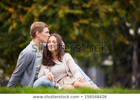 pair of sweethearts Stock photo © 26kot