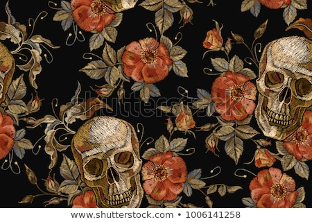 death seamless pattern Stock photo © glorcza