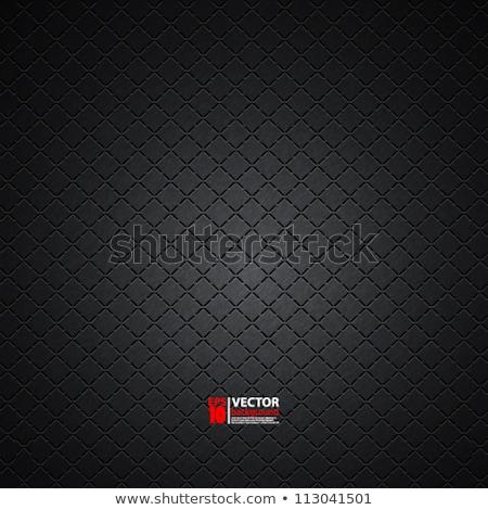 Carbonio metallico design piatto buio Foto d'archivio © alexmillos