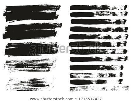 抽象的な グランジ 中古 血液 黒 スタンプ ストックフォト © redshinestudio