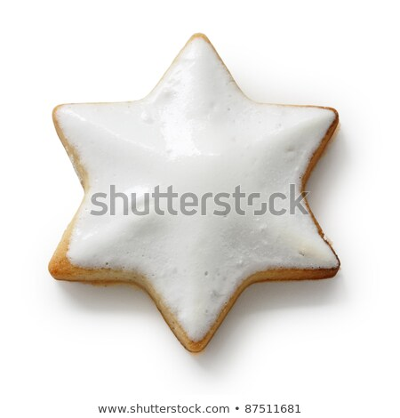 one star shaped cinnamon biscuit Stock photo © Rob_Stark