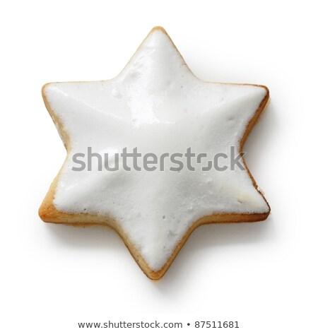 корицей · печенье · 10 · фон · мяча · звездой - Сток-фото © rob_stark