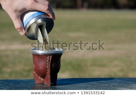 Yerba Mate  equipment Stock photo © wime