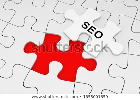 WWW - White Word on Red Puzzles. Stock photo © tashatuvango