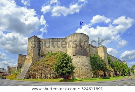 Ducal Castle, Caen, Normandy, France Stock photo © phbcz