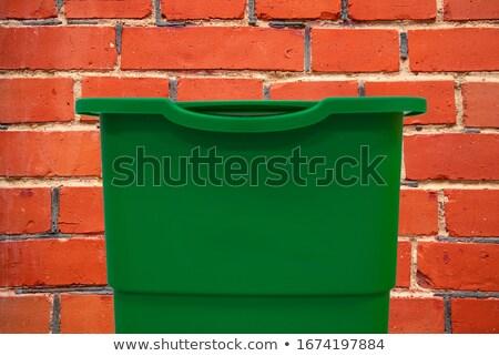 odpadów · miasta · centrum · pełny · budynku · miejskich - zdjęcia stock © speedfighter