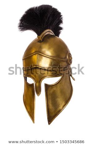 Warrior helmet Stock photo © Makse