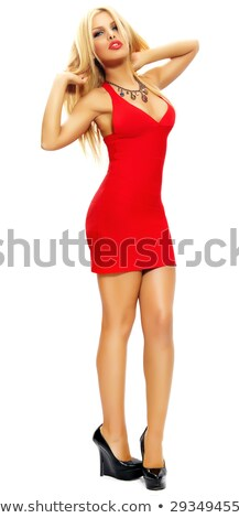 Blonde Bombshell Stock photo © ClipArtMascots