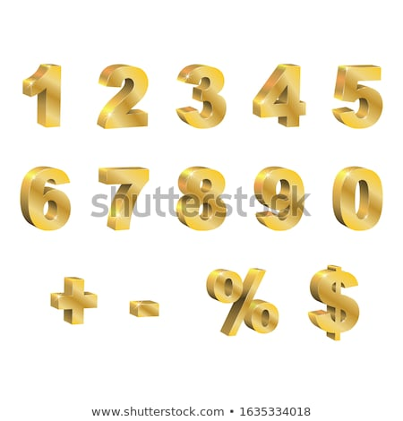 Minus Sign golden Vector Icon Design Stock photo © rizwanali3d