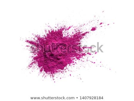 Stok fotoğraf: Close Up Of Loose Eyeshadow Or Makeup Powder