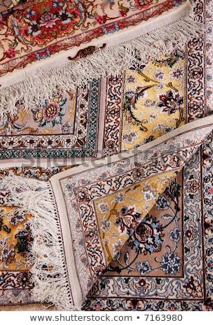 Szín mintázott szőnyeg felület részlet kilátás Stock fotó © Jasminko
