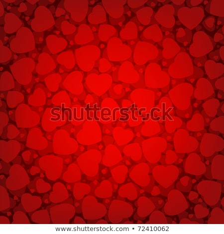 valentine hearts pattern background eps 8 stock photo © beholdereye