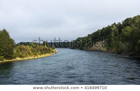 Waiau river along Kepler track Stock photo © lostation