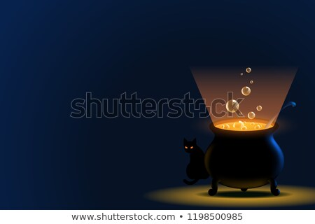 Magical Witch Background Stock photo © Lightsource