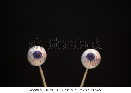 Snail with eyeballs sticking out Stock photo © bluering