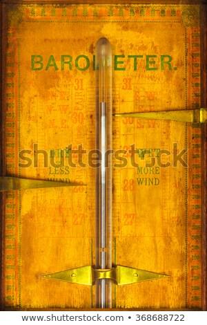 Barometar, old classic measurement equipment Stock photo © zurijeta