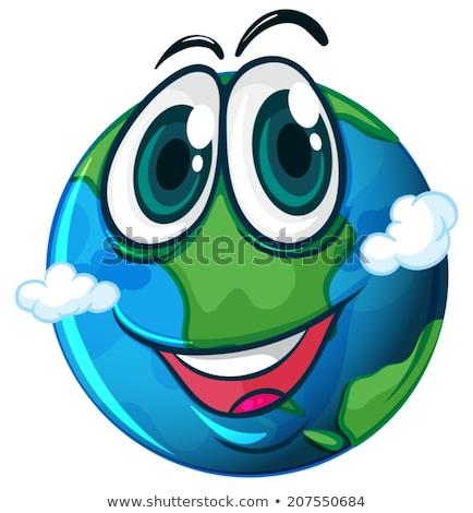 орбита · планеты · пространстве · иллюстрация · аннотация · природы - Сток-фото © bluering