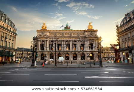 Opera Parijs Frankrijk stad reizen behang Stockfoto © ilolab