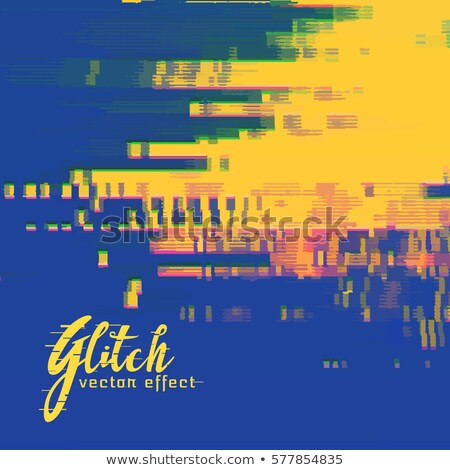 Vector senal error colores supervisar Screen Foto stock © SArts