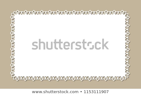 Crochê lugar vintage praça padrão limpar Foto stock © Digifoodstock