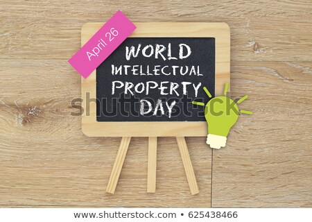 26 April World Intellectual Property Day Stock photo © Olena