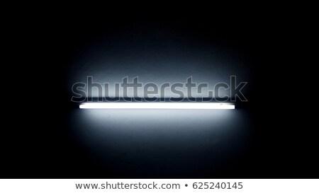 Plafond neon buis lichten heldere kamer Stockfoto © stevanovicigor