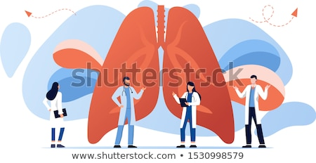 bronchial asthma  banner Stock photo © Olena