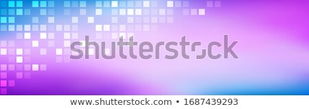 Stock photo: Abstract bright rainbow purple blue gradient, simple modern satin texture, vector background