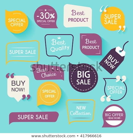 Stock photo: banner on  sale i packages discounts
