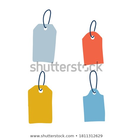 Blank dangling paper Stock photo © Macartur888