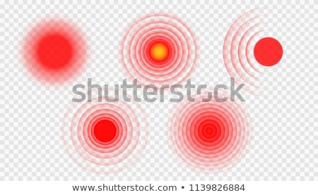 pain circle vector Stock photo © Macartur888
