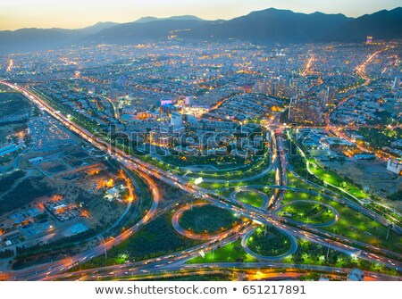 Tehran overview, Iran Stock photo © joyr
