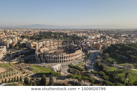View of the Coliseum Stock photo © Givaga