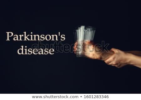 Сток-фото: болезнь · человека · голову · бумаги · отсутствующий