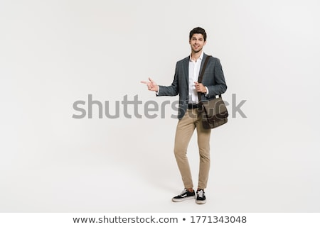 imagem · otimista · empresário · 30s · formal · terno - foto stock © deandrobot