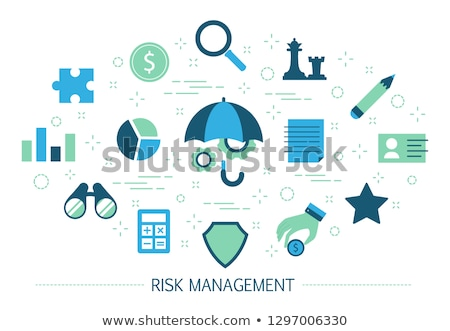 Risk management concept vector illustration. Stock photo © RAStudio