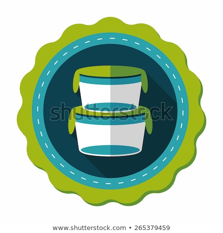 Preserved Food in Containers Vector Illustration Stock photo © robuart
