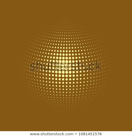 коричневый планеты мира логотип круга икона Сток-фото © blaskorizov