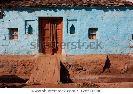 Simple rural house background Stock photo © colematt