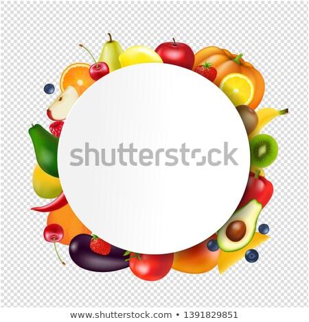 tomatensap · splash · drinken · voedsel · zomer · pasta - stockfoto © cammep