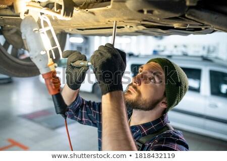 Repairman with handtools Stock photo © pressmaster