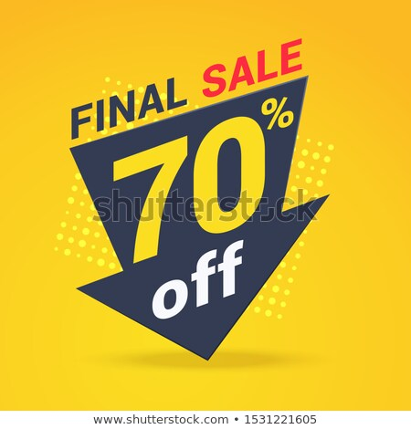 Big Sale 70 Percent, Seventy Off Price Banner Stock photo © robuart