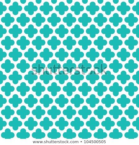 zöld · végtelenített · vektor · minta · vonal · mértani - stock fotó © yopixart