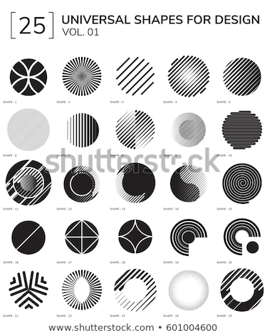 abstract geometric lines mesh techno background stock photo © sarts