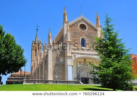 igreja · Madri · central · Espanha · edifício · europa - foto stock © borisb17