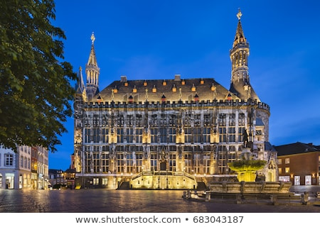 Aachen Rathaus (city hall), Germany stock photo © borisb17