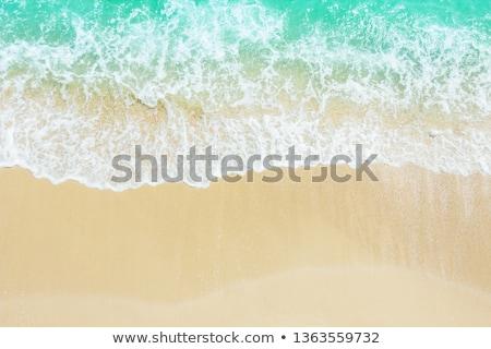 Festői kilátás tengerpart hullámok tenger víz Stock fotó © AndreyPopov