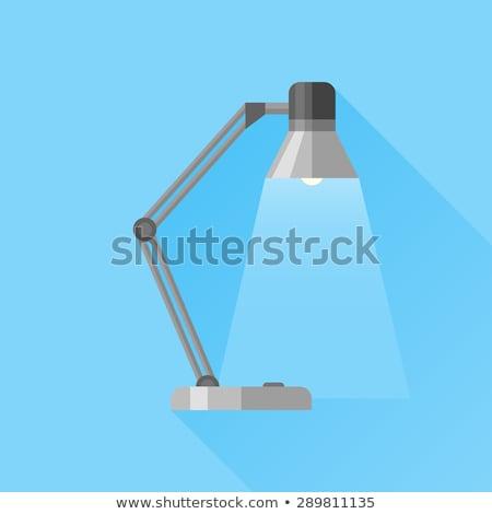Reading-lamp flat icon Stock photo © smoki