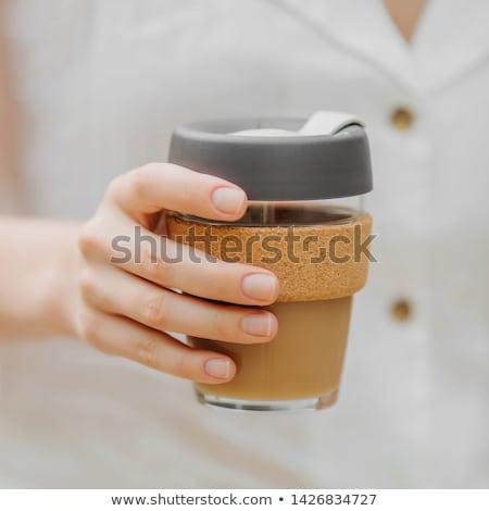 Reusable Coffee Cup Stock photo © AndreyPopov